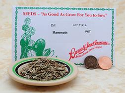 Heirloom Dill Seeds