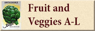 Fruit & Vegetable Seed A-L